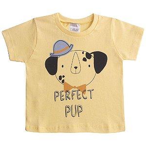 Camiseta Perfect Pup Amarelo