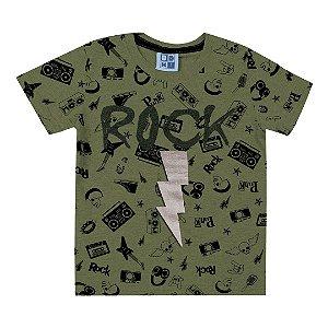 Camiseta Rock Verde