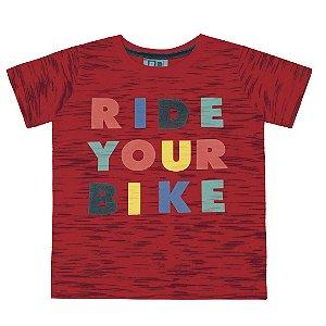 Camiseta Ride Your Bike Vermelho