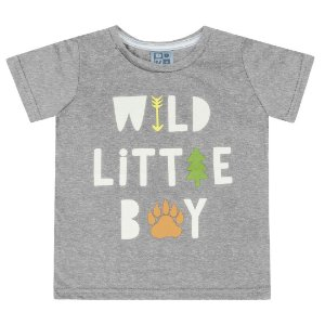 Camiseta Wild Little Boy Mescla