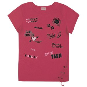 Blusa Girl Power Pink