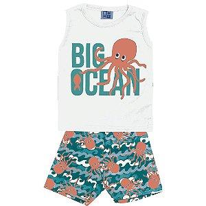 Conjunto Regata Big Ocean Branco
