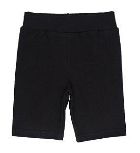 Shorts Kids Básico Preto