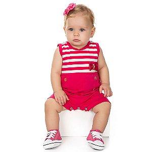 Macaquinho Baby Formosura Pink