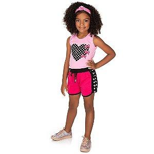 Conjunto Infantil Fofura Rosa