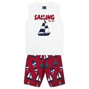Conjunto Regata Sailing Branco