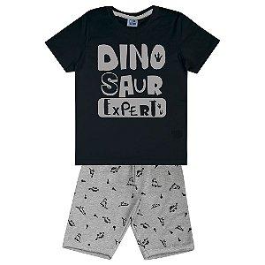 Conjunto Dinosaur Expert Preto