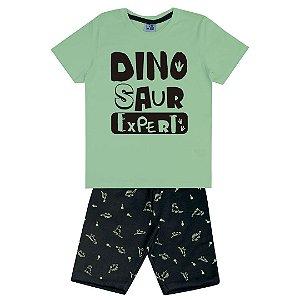 Conjunto Dinosaur Expert Verde