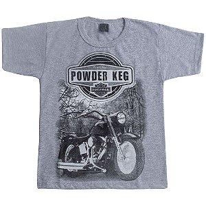 Camiseta Infantil Powder Mescla