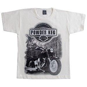 Camiseta Infantil Powder Off