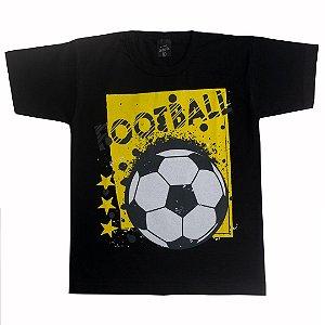Camiseta Infantil Football Preto