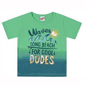 Camiseta Waves Verde