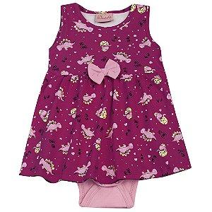 Vestido Body Dino's Girl Pink