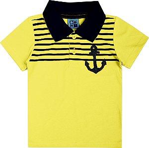 Polo Anchor Amarelo