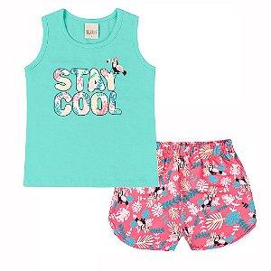 Conjunto Stay Cool Verde