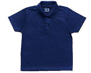 Camisa Polo Menino Marinho