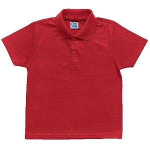 Camisa Polo Menino Vermelho