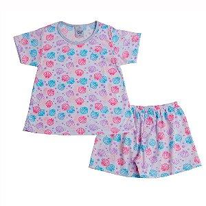 Conjunto Pijama Conchas