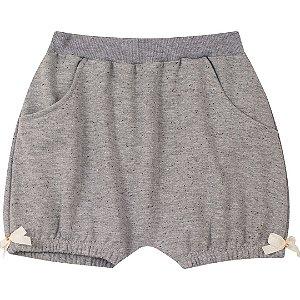 Shorts de Moletinho Mescla