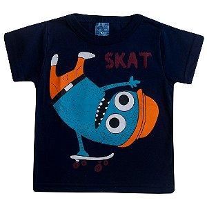 Camiseta Skate Marinho