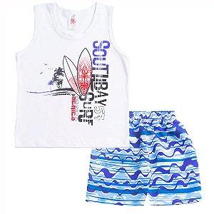 Conjunto Regata Surf Branca