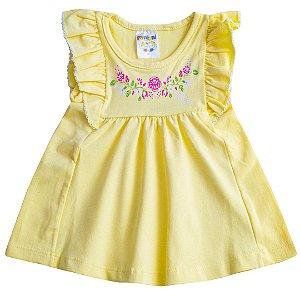 Vestido Sweet Baby Amarelo