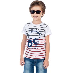 Camiseta Summer Time Branca