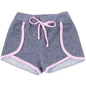 Shorts Mescla Escuro