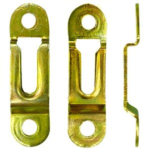 Suporte Invisível Para Fixar Nicho - Kit com 10 peças