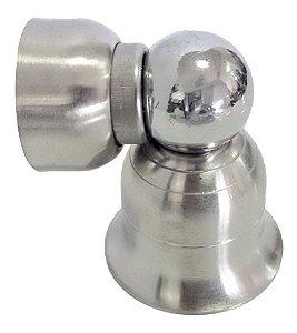 Prendedor Para Porta Inox Escovado Max831