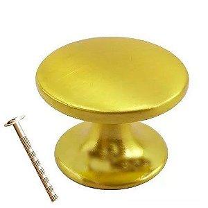 Puxador Botão Margarida 27mm