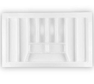 Organizador de Talheres Divisórias Grandes Branco OG-068 90x55cm