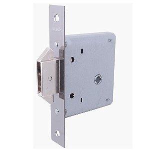 Fechadura Bico Duplo Porta de Correr Banheiro Quadrada 5006/098-IP