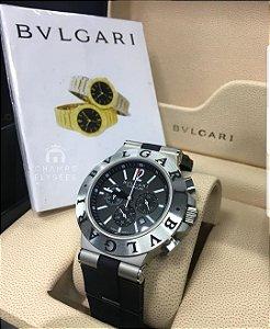 Relógio BVLGARI Titanium.