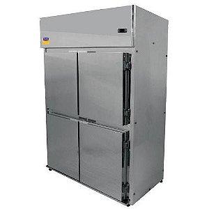 Geladeira Comercial 4 portas inox klima