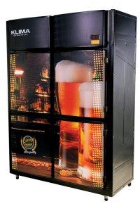 Cervejeira Vertical 4 Portas Bipartida  Klima