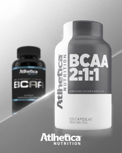 BCAA Atlhetica Nutrition 120 capsulas