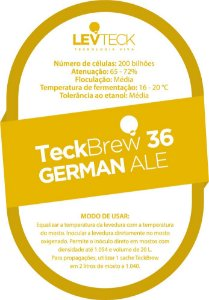 Fermento / Levedura TeckBrew 36 – GERMAN ALE