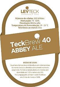 Fermento / Levedura TeckBrew 40 – ABBEY ALE