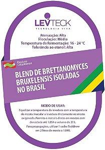 Fermento / Levedura TeckBrew Blend Brettanomyces Bruxellensis Isoladas no Brasil