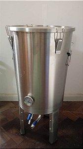 Fermentador Cônico 30L de Inox 304