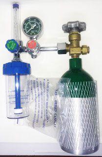 Sistema para Oxigenação (Cilindro + regulador)