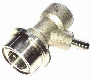 """Conector Inox Ball Lock líquido 1/4"""""""