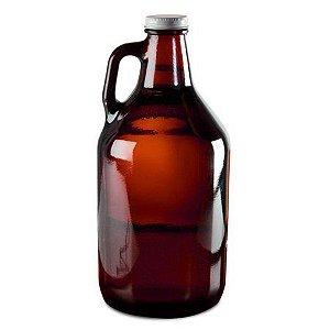 Growler de vidro 1,9 litros