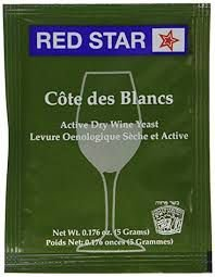 Fermento / Levedura Red Star - Premier Cote Des Blanc 0,05g