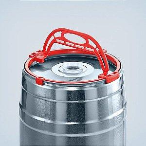 Alça para Carregar Barril 5l (mini keg) vermelha