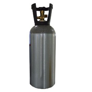 Cilindro de CO2 e N2 em alumínio 4,5kg / 10lb