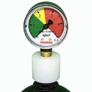 Adaptador para manômetro em garrafa PET