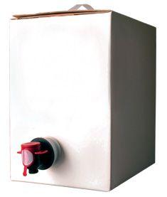 Caixa Branca Completa Para Vinho - 5l