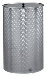 Panela Inox com tampa e torneira 55l